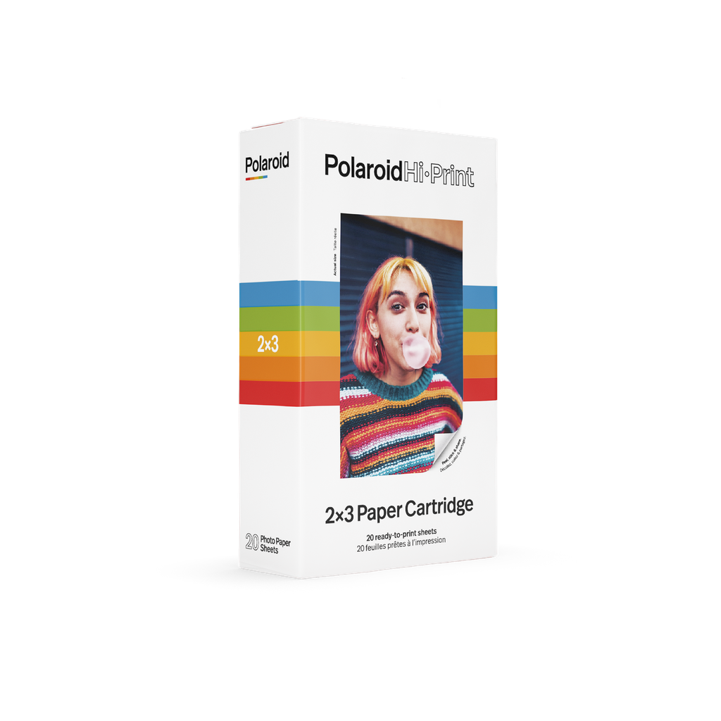 Polaroid Hi Print 2×3 Paper Cartridge - 20 Sheets