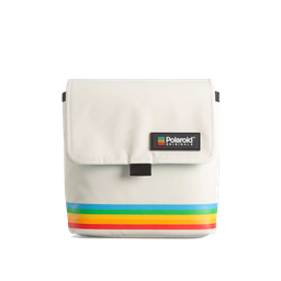 [4757] Box Camera Bag - White