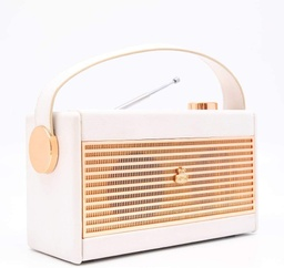 [GPODARRWHT] GPO Darcy Radio Analogic White / Gold