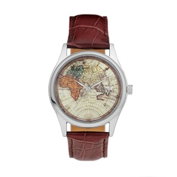 [14226BB] Vintage World Silver/Brown