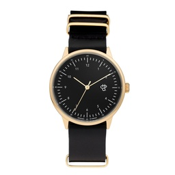 [14229BB] Harold Black Gold Black
