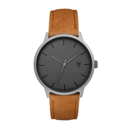 [14240BB] Khorshid Betong Betong/Tea Brown Vegan Leather Strap
