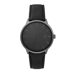 [14240II] Khorshid Betong Betong/Black Vegan Leather Strap